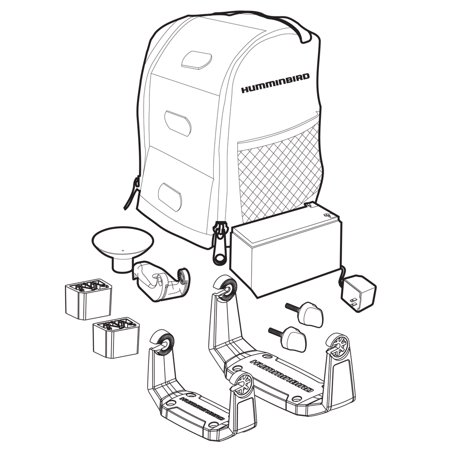 Humminbird 740157-1 PTC U2 Portable Carrying Case Kit