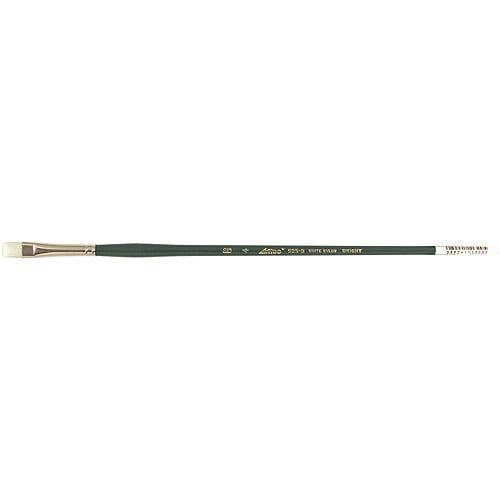 Arttec Long Handle White Nylon Bright Brush, Size 4
