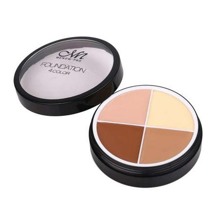 Menow 4 Colors Brand Makeup Face Concealer Cream Long Lasting Waterproof Camouflage Concealer Palette Cosmetics