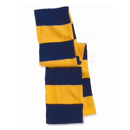 Sportsman Headwear - Winter Rugby Striped Knit Scarf (Rugby Scarf)