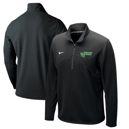 North Texas Mean Green Nike Training Performance Quarter-Zip Pullover Jacket - Black