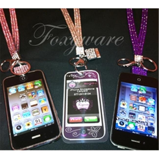 Foxyware IPHONELD-PNK10 iPhone Lanyard - Pink 10pack