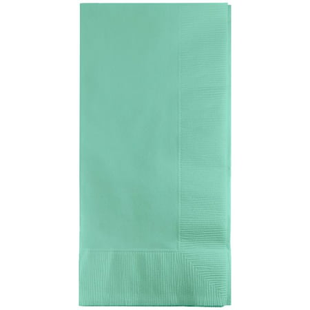 Touch of Color Dinner Napkins, 2-Ply, 1/8 Fold, Fresh Mint, 50 Ct