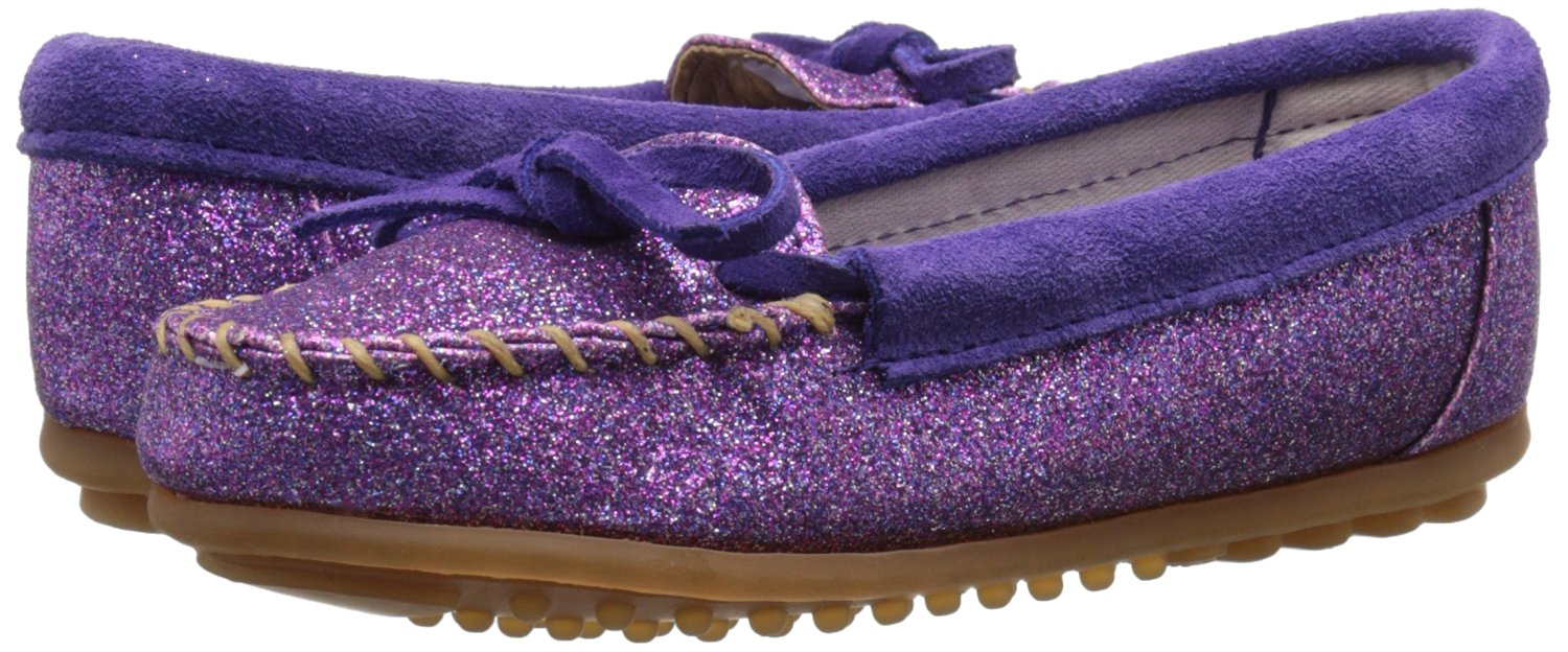Minnetonka Suede Infant Moccasins by Minnetonka
