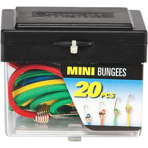 SmartStraps Mini Bungees, 20 Pieces
