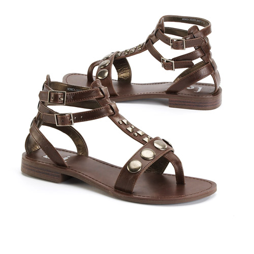 L.e.i. - Women's Monica Studded Gladiator Sandals