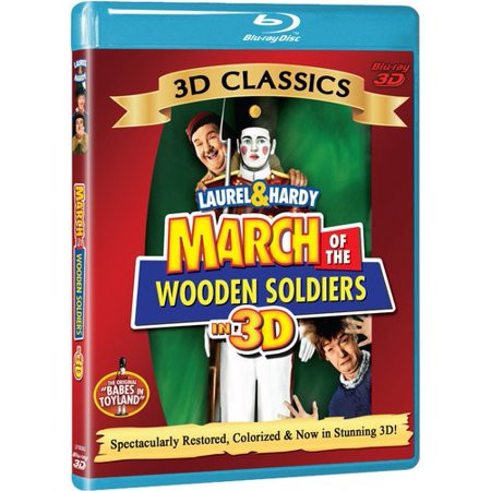 March of the Wooden Soldiers (3D Blu-ray) - March Of The Toy Soldiers