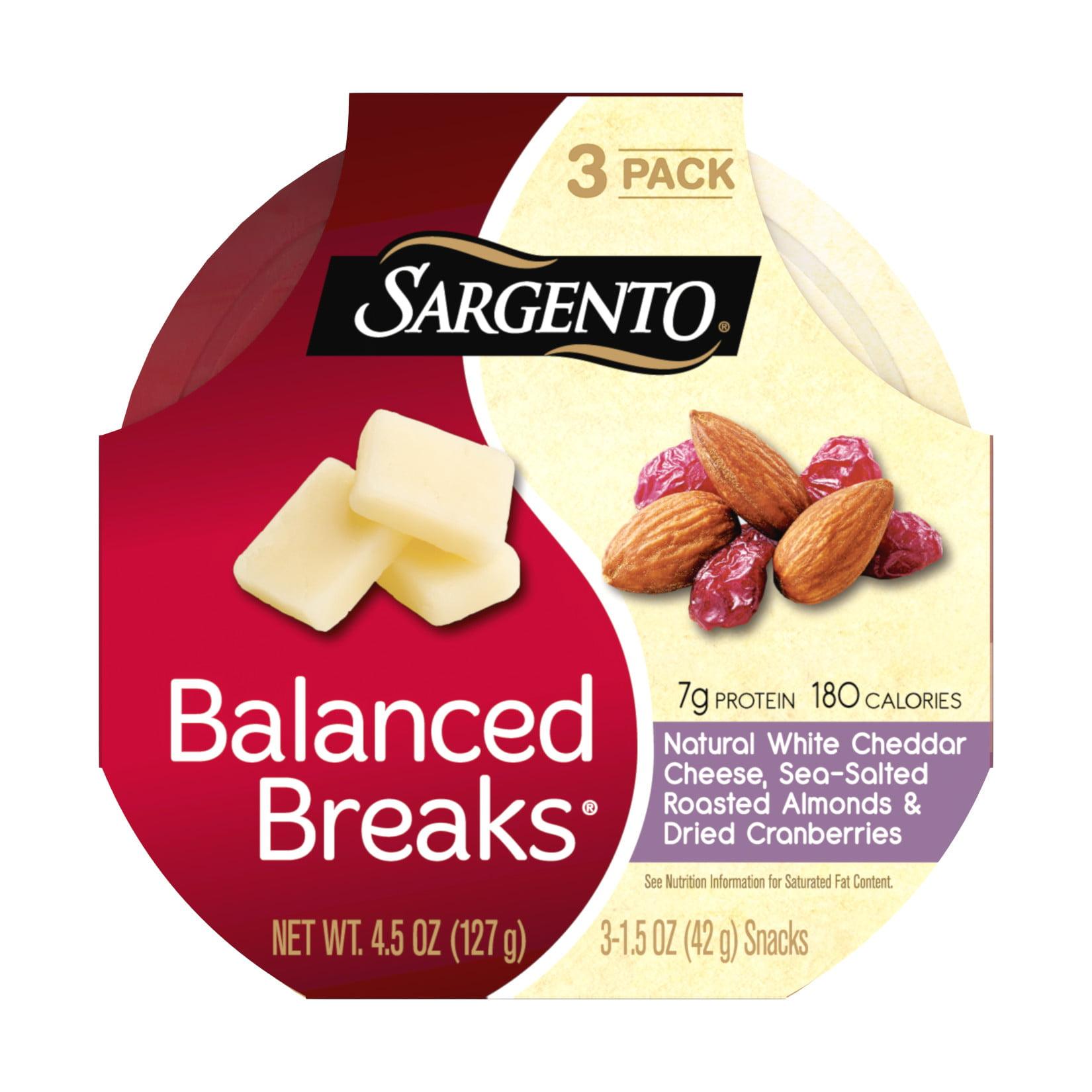 Sargento, Balanced Breaks White Cheddar