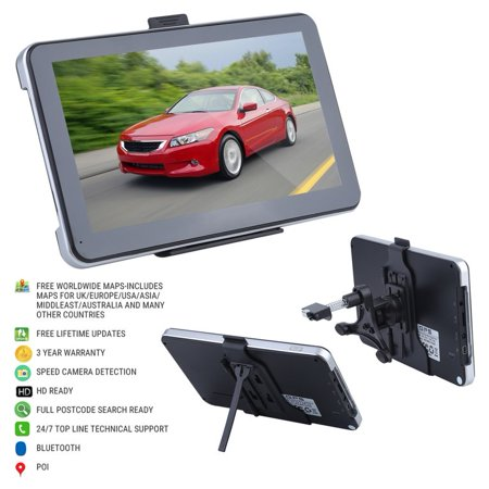 HD 7 Inch 8G Memory Car Truck HGV American Maps With GPS