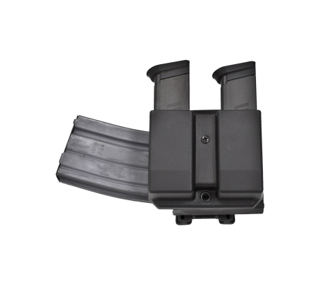 Blade-Tech Revolution AR-Mag w/Double Mag Pouch,For Glock 9/40,Revolution AR Mag