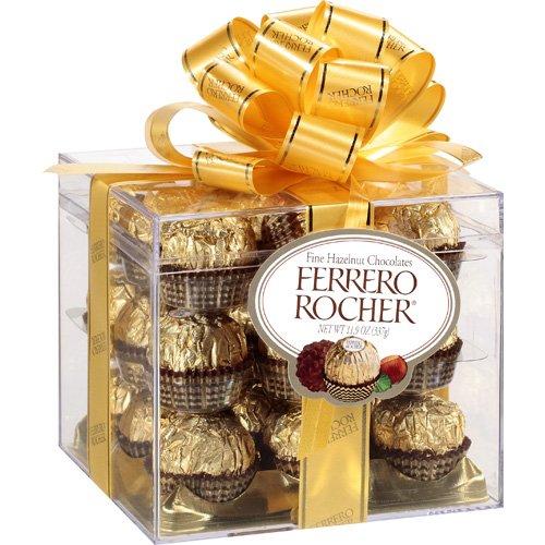 Ferrero Rocher: Fine Hazelnut Chocolates, 11.9 oz