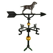 Deluxe Swedish Iron Lab Weathervane - 32 in.