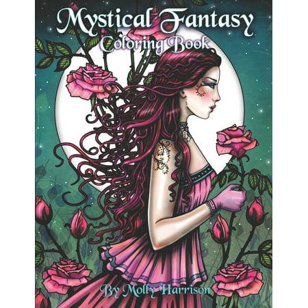 Molly Harrison - Mystical Fantasy Coloring Book: Coloring