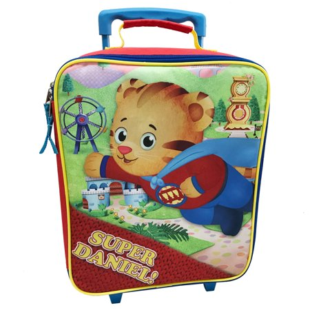 Fred Rogers Daniel Tiger 14 inch rolling pilot case