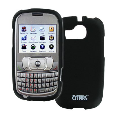 Memo Case - ZTE Memo Case, EMPIRE Black Rubberized Hard Case Cover for ZTE Memo A415