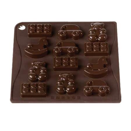 Pavoni ChocoIce Toys / Lego Silicone Mold - Lego Silicone Mold