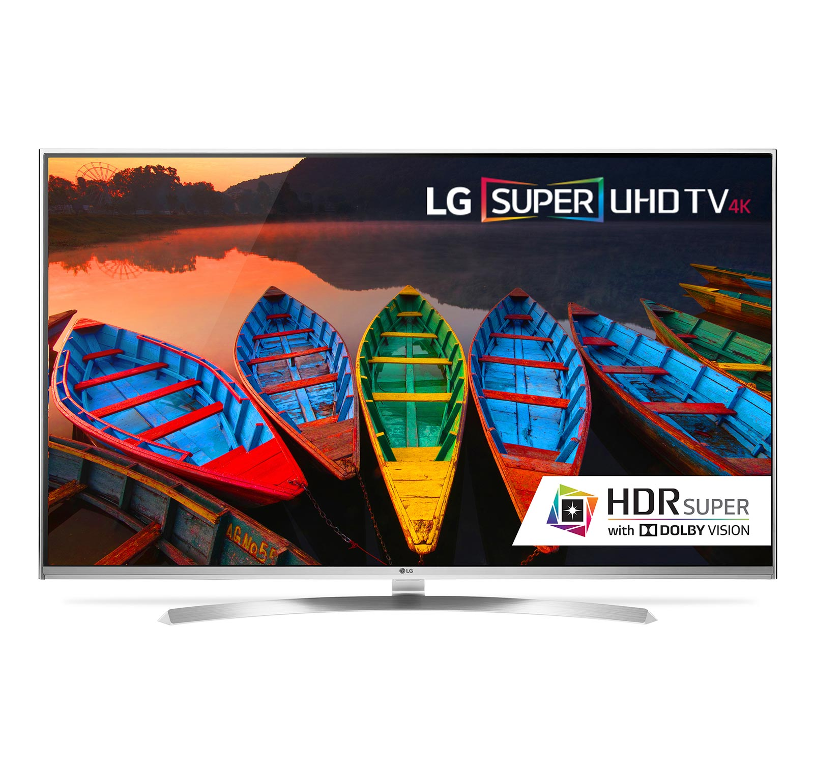 "LG 55UH8500 55"" 4K Super UHD Smart LED TV w/webOS 3.0 HDR Super w/Dolby Vision"