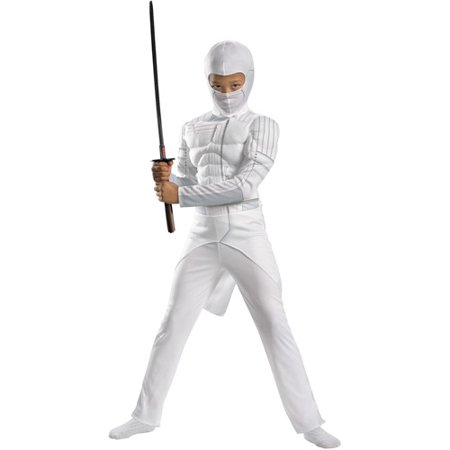 G.I. Joe Storm Shadow Classic Muscle Child Dress-Up Costume - Kids Gi Joe Costumes
