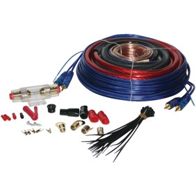 8 GAUGE 1500W Complete Car Amp Vibe Amplifier Cable Subwoofer Wiring ...