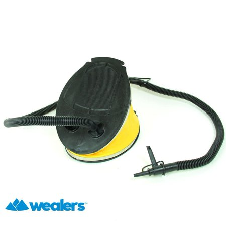 Wealers High Volume 5L Bellows Air Mattress Inflate and Deflate Foot Pump
