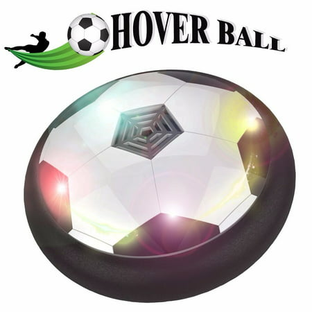 Kids Toys the Amazing Hover Ball with Powerful LED Light Size 4 Boys Girls Sport Children Toys Training Football for Indoor or Outdoor with Parents Game](Light Toys For Kids)