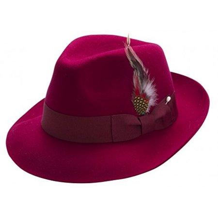 edde619bd5057 MONTIQUE - Montique Pinch Men s Felt Hat (Medium