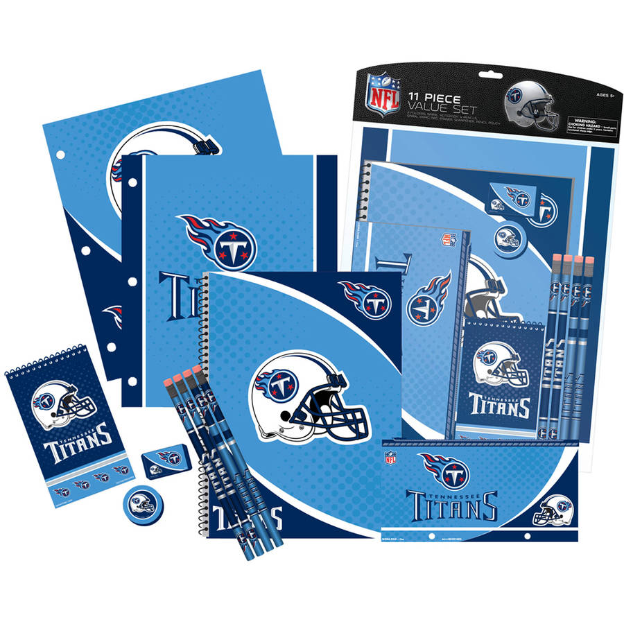 NFL Tennessee Titans 11 Piece Stationery Set