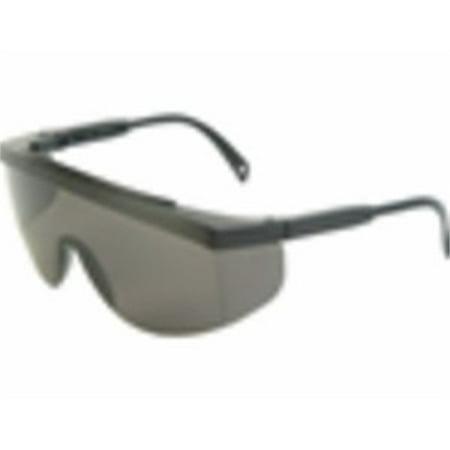 Gx0120Id Smoke with Blk Fram. Safety Glasses, Radians Inc., EACH, PR, Black fram