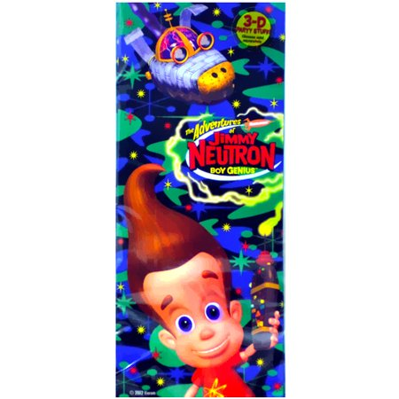 Jimmy Neutron Cello Favor Bags w/ Twist Ties - Jimmy Neutron Party