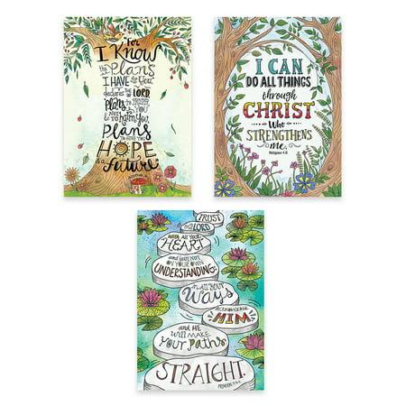 DEVOTIONAL BIBLE VERSES POSTER REJOICE INSPIRE U - Bible Posters