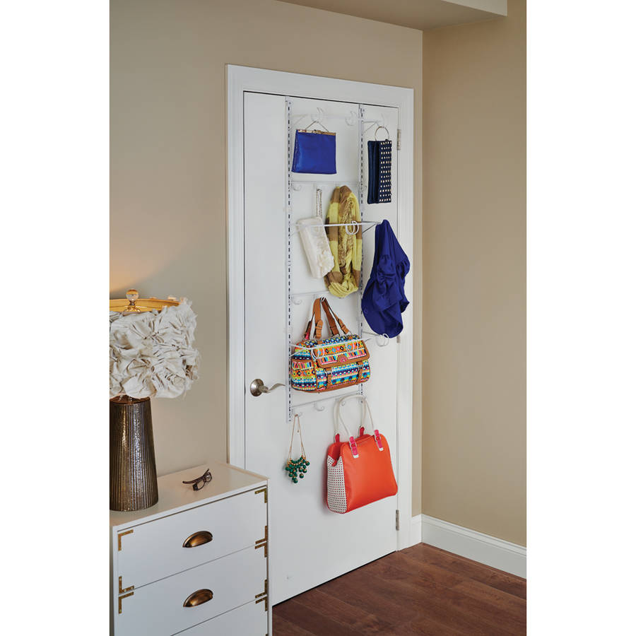 ClosetMaid Over-The-Door Hanging Organizer, White