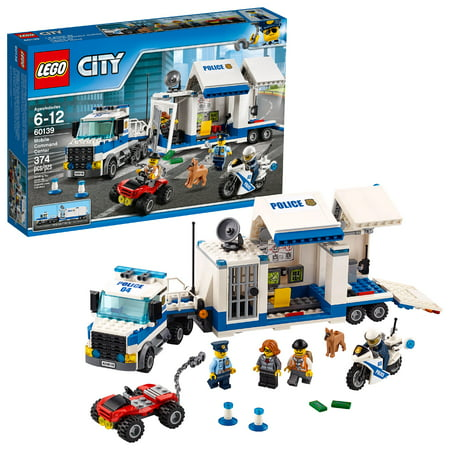 Lego City Police Mobile Command Center 60139 374 Pieces Walmartcom