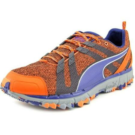 99da097b5366 Puma Men s Faas 500 TR V2 Orange Periscope Blue Sneaker 11.5M ...