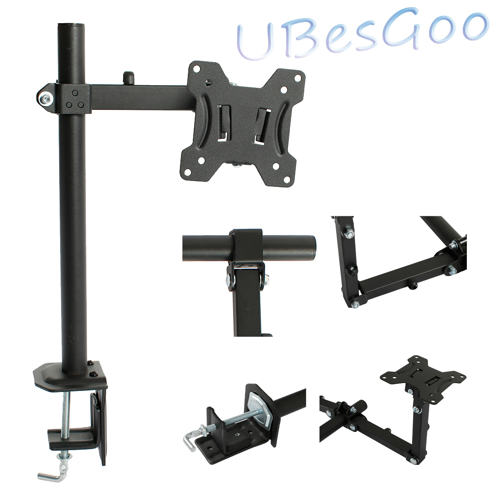 UBesGoo LCD Monitor Arm Stand Desk Table Mount Fully Adjustable screen 13 - 27""