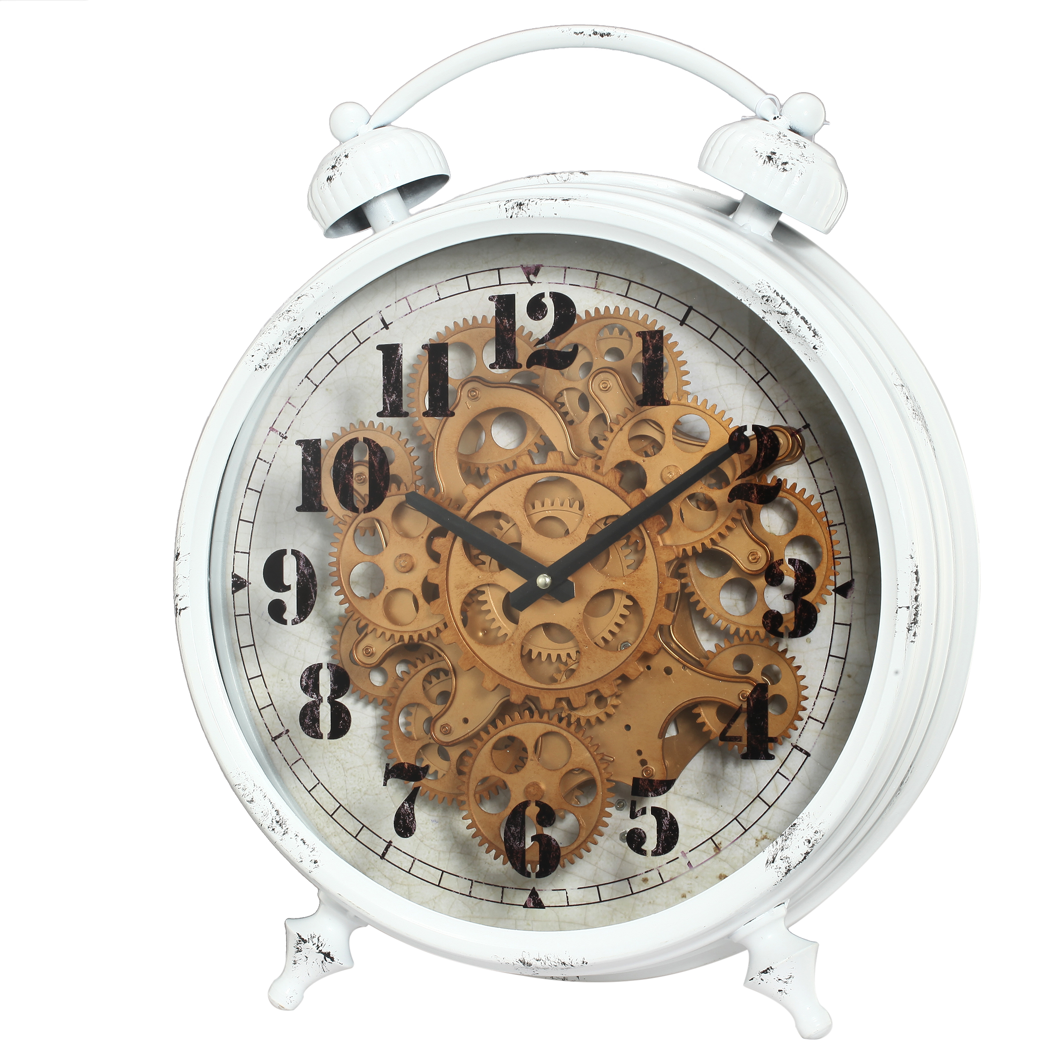 A&B Home Classic Gears Table Clock by A&B Home