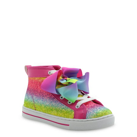 Nickelodeon Jojo Siwa Multi-Stripe High-Top Sneaker (Little Girls & Big Girls)