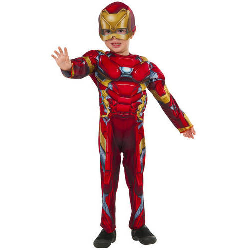Iron Man Muscle Chest Toddler Halloween Costume
