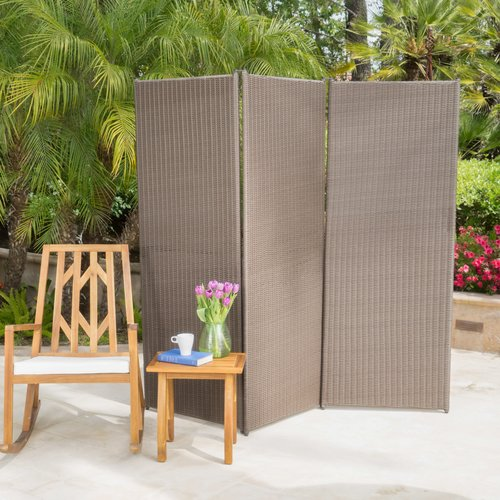 Incroyable Darby Home Co Abdul Outdoor 3 Panel Room Divider