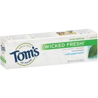 Tom's of Maine Wicked Fresh Toothpaste Cool Peppermint - 4.7 oz