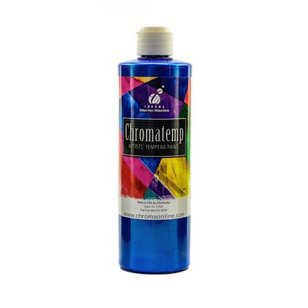 Chromatemp Pearlescent Tempera Paint - Blue