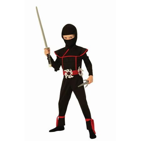 Lava Girl Costume For Kids (Stealth Ninja Kids Costume)