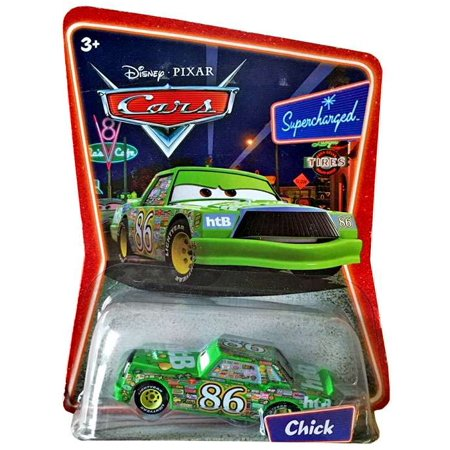 Disney Cars Supercharged Chick Hicks Diecast Car