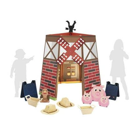 Sharingland Pp02 Windmill Farm Premium Playhouse For Kit