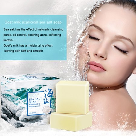 Natural Bar Soap Quickly Remove Mites Repair Nourish Skin Gentle Cleansing Bar for Dry/Sensitive
