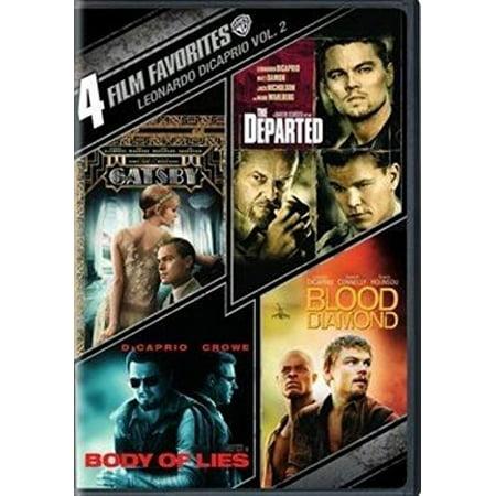4 Film Favorites: Leonardo DiCaprio Volume 2