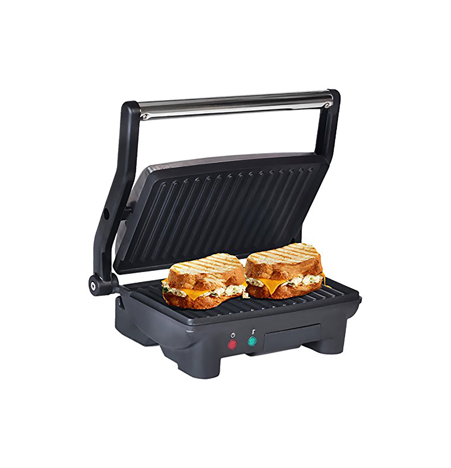 Elite Cuisine EPN-2976 3-in-1 Panini Press & Grill