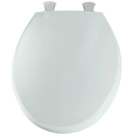 Church 3EC Lift-Off Plastic Round Toilet Seat, Available in Various Colors