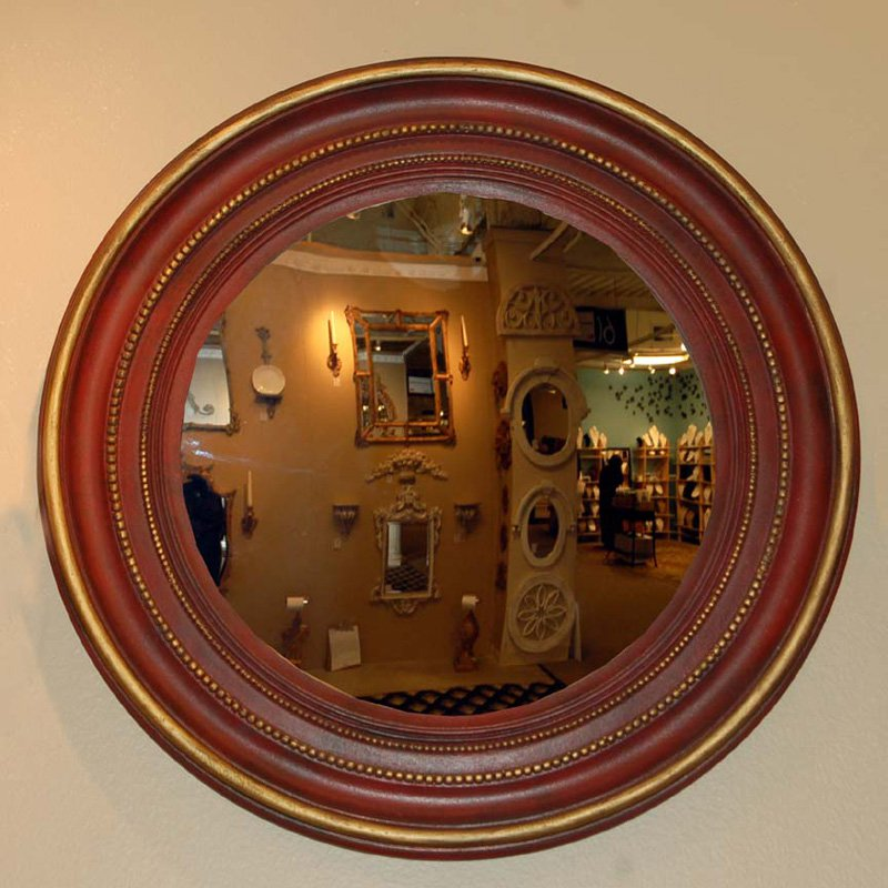Hickory Manor House Maiden Convex Mirror - 22.5W x 22.5H in.