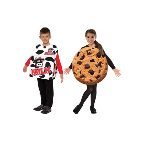 Kid's Milk and Cookie Double Costume Set - Size - Double Costumes Ideas