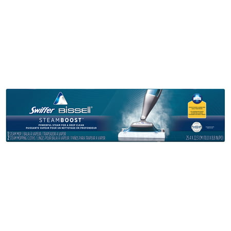 Swiffer SteamBoost Deep Cleaning Steam Mop Starter Kit - For Bissell Machines: All Purpose Cleaning (Best Commercial Steam Cleaning Machines)